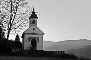 A kis kápolna Szomolnok felett